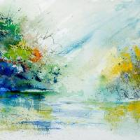 """watercolor 903022"" by pol"