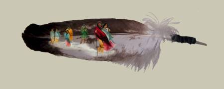 Trail of Tears Feather