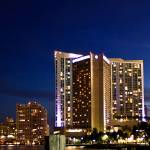 """Miami`s Bayside by night"" by mgphotographyfl"
