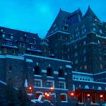 """""""Banff Springs Hotel, Alberta"""" by oilboy"""