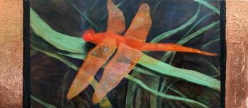 The Orange Dragonfly