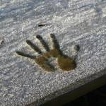 """""""Frosty hand print"""" by cherryblossomtattoo"""