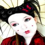"""Geisha Girl by Diana Hliva"" by allegro29"
