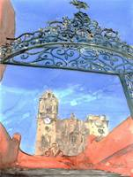Iron Gate at Temple of La Valenciana