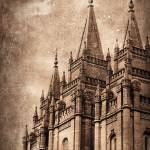 """SOLACE-Salt Lake Temple"" by markevans"