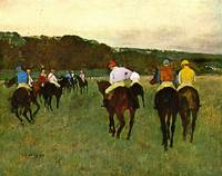Of Running Horses in Longchamp