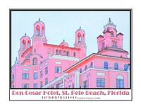 Don Cesar Hotel, St. Pete Beach, Florida - Roof