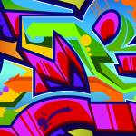 """Graffiti B"" by Bluemos"