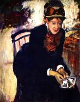 Portrait of Measures Cassatt