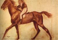 Racehorse and Jockey