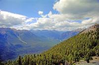 From Sulphur Mountain, High Rockies,1993 1