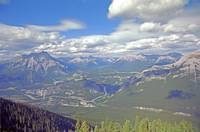 From Sulphur Mountain, High Rockies,1993 8