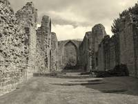 Lilleshall Abbey nave