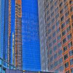 """Wells Fargo bank  KPMG tower  reflection"" by eyalna"