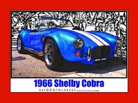 1966 Shelby Cobra, Red Border