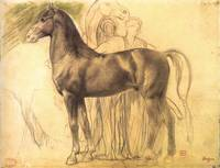 Study of a Horse with Figures