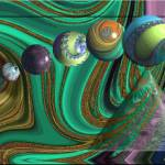"""Spheres into fractal hole"" by windsweptacre"