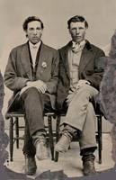 Two Iowa Boys, ca. 1868