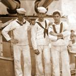 """Three Sailors, ca. 1928"" by davidclaudon"