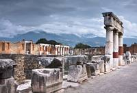 The Forum.. Pompeii,Italy