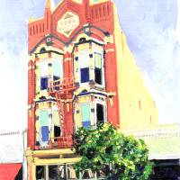 """The Yuma Building by RD Riccoboni"" by RD Riccoboni"