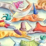 """""""Cats in Hats"""" by jenniferthermes"""
