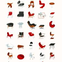 """Mid-Century Modern Collection (Neutral)"" by jamesprovost"