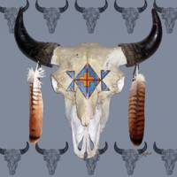 Southwest Buffalo Skull