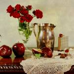 """Apples and Roses"" by DianaLeePhotoDesigns"