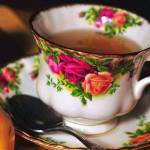 """Roses Tea Cup"" by DianaLeePhotoDesigns"