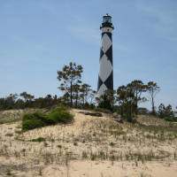 Cape Lookout Lightouse Art Prints & Posters by Travis Crocker
