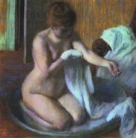 Woman in a Tub 1
