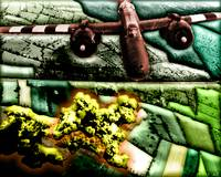 Pop Art Rendition Of A Bomber Over Germany