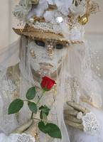 Pearl Bride with Veil