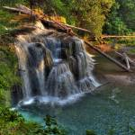 """0002 Lower Falls Upper Lewis River 2"" by vincentlouis"