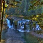 """0003 Lower Falls Upper Lewis River"" by vincentlouis"