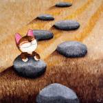"""cat-art-by-catmaSutra - The Pilgrimage"" by catmasutra"