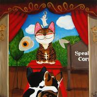 cat-art-by-catmaSutra - Speaker's Corner