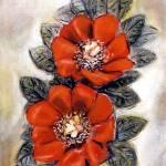 """Two Poppies"" by goellisphoto"