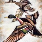 """Ducks"" by goellisphoto"