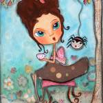 """Little Miss Muffet"" by pbsartstudio"