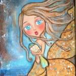 """A mermaids work is never done"" by pbsartstudio"