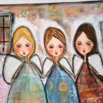 """""""Angels surround us"""" by pbsartstudio"""