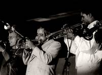 Dizzy Gillespie and Jon Faddis