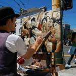"""Haight St. Painter"" by kcturner"