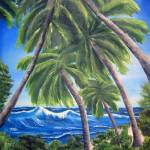 """""""Palm Cluster"""" by Cindisart"""