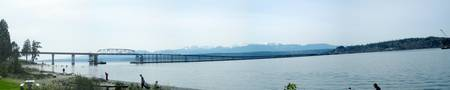 Hoodcanal Bridge Panorama