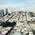 """looking out from coit tower"" by scpgt"