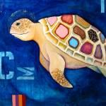 """Green Turtle"" by BoboJunket"
