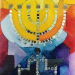 """MENORAH IN YELLOW"" by Naranjay"